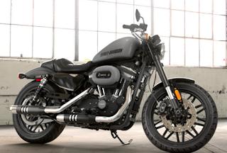 Harley Davidson Roadster Billet Silver/Vivid Black