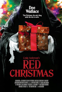 Red Christmas Poster