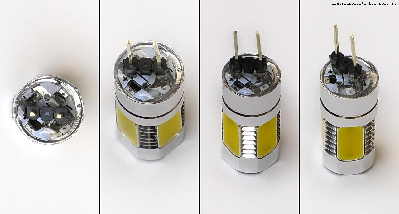 lampadina G4 12v 2w a LED COB