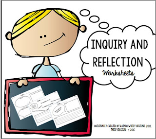 inquiry and reflection science worksheets