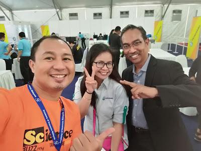 Pengalaman ke Ekspo Sains NICE MOSTI 2017