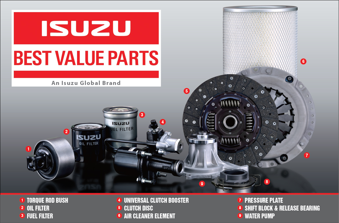 Isuzu Best Value Parts
