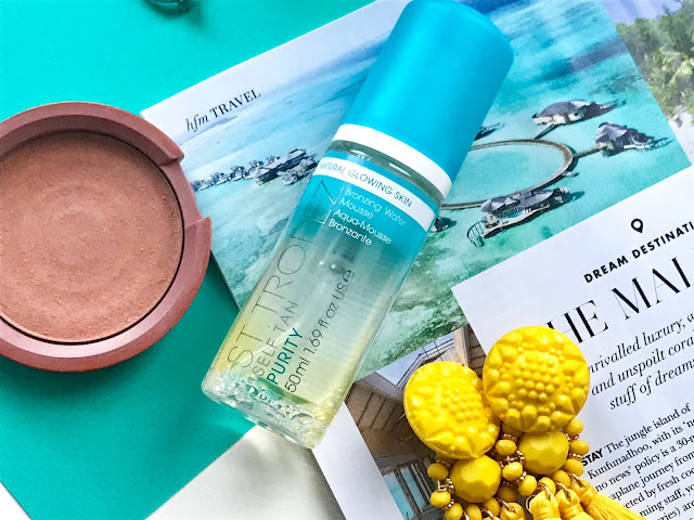 The NEW St Tropez Purity Bronzing Water Mousse - Tropical Tan without The Biscuit Scent