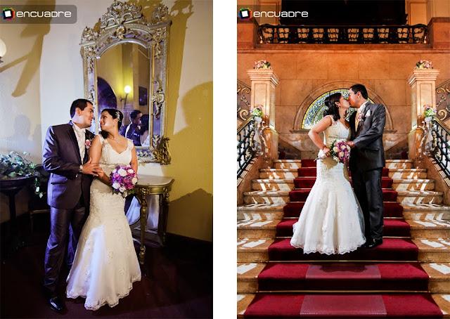 fotos de bodas encuadre