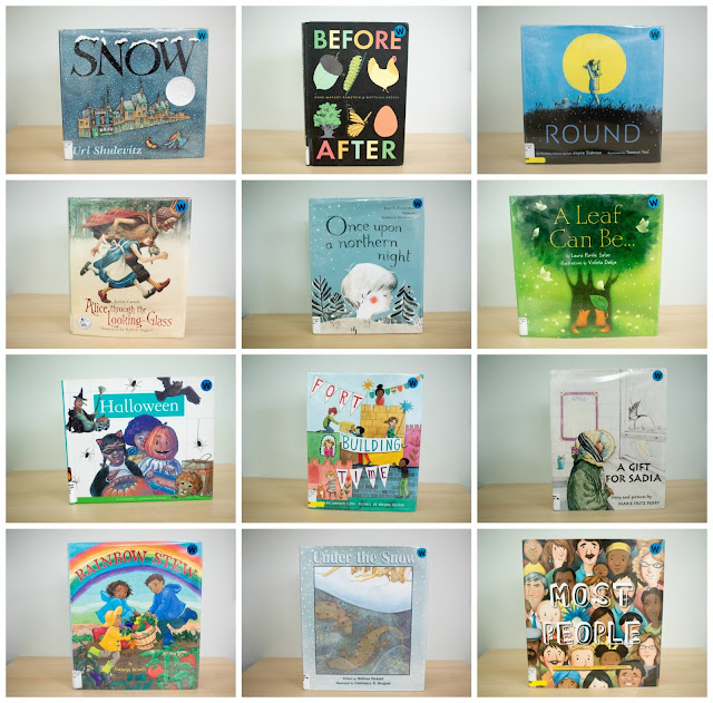 Montessori friendly books that we have been reading this month!