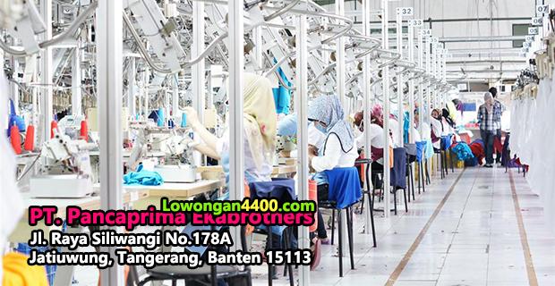 Lowongan Kerja PT. Pancaprima Ekabrothers Tangerang
