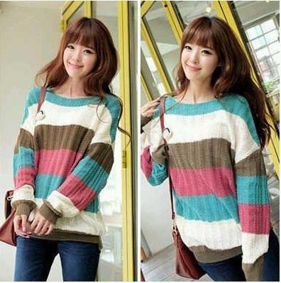 Sweater Rajutan, Berpenampilan lebih Fashionable