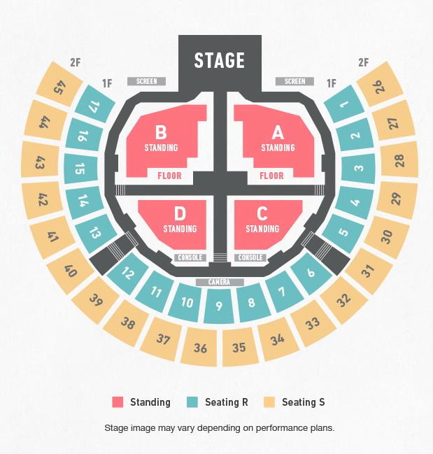 防彈少年團《2016 BTS LIVE 花樣年華 on stage epilogue》首爾演唱會(票價/座位圖/個人海報/周邊商品) - 櫻花泡菜