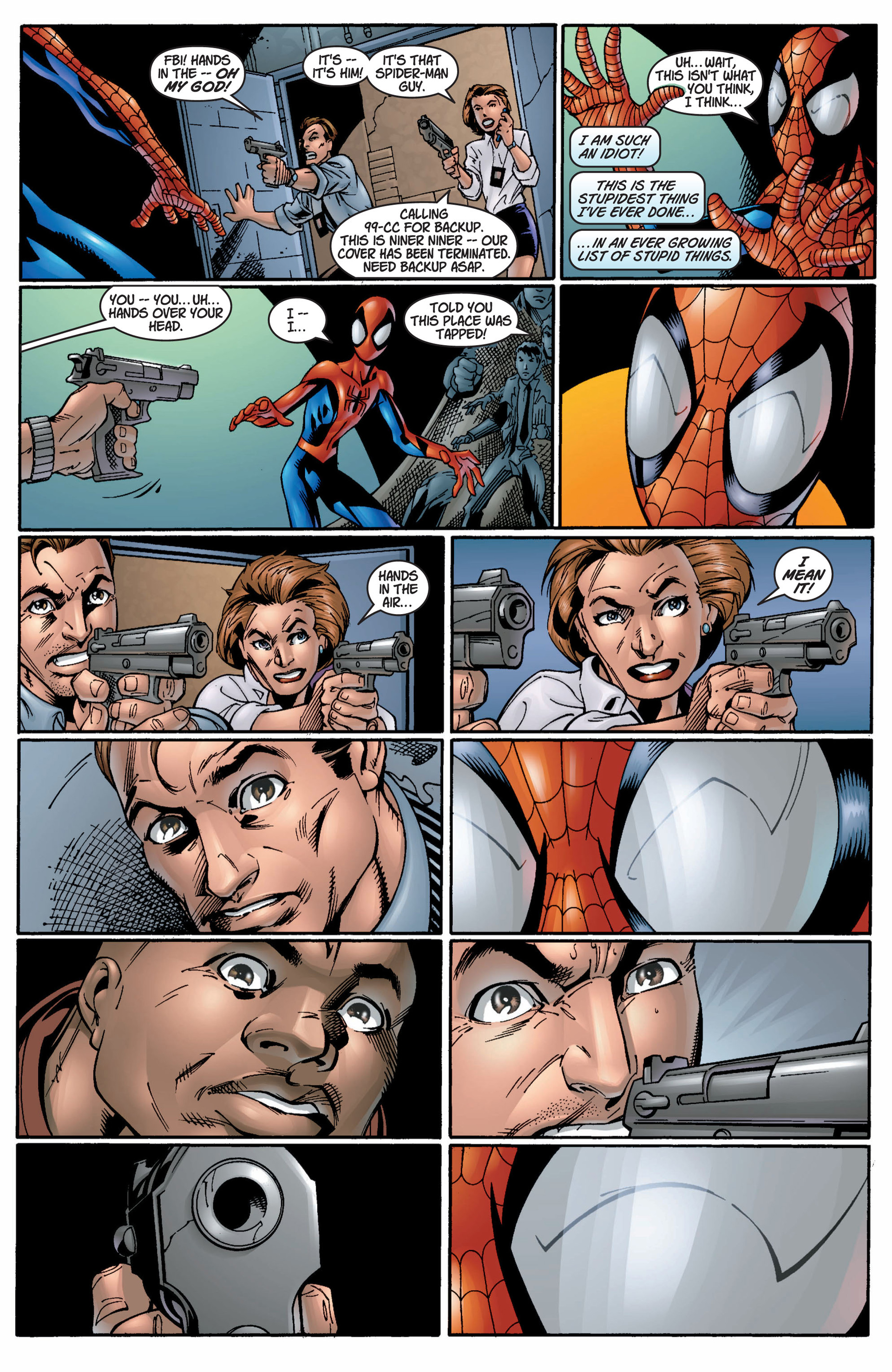 Read online Ultimate Spider-Man (2000) comic -  Issue #9 - 10