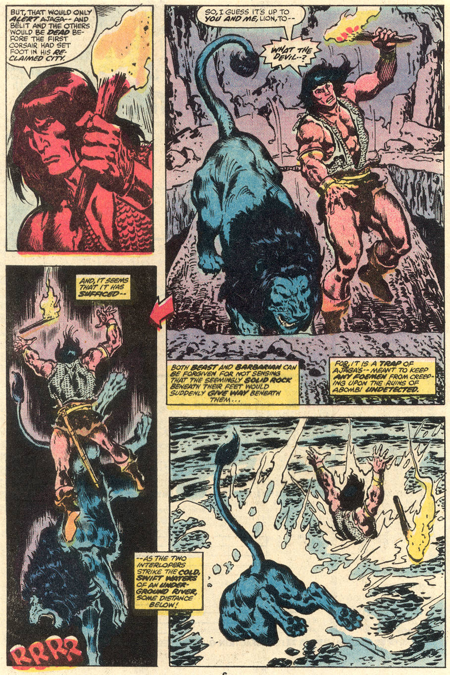 Conan the Barbarian (1970) Issue #96 #108 - English 5