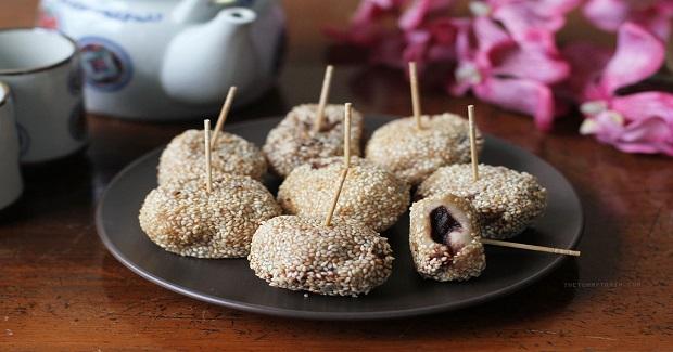 Sesame Seed Balls Recipe