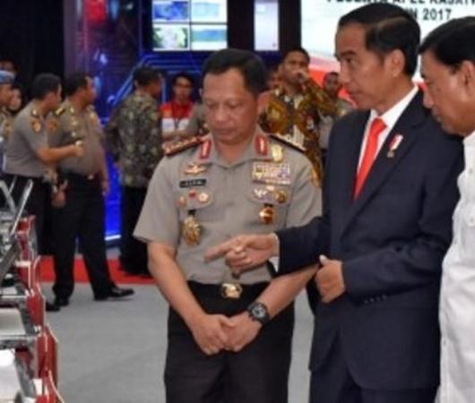 Presiden Jokowi Bantah Intervensi SP3 Kasus Habib Rizieq