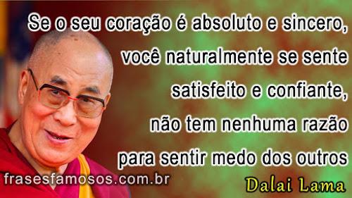 Frases do Dalai Lama sobre Confiança