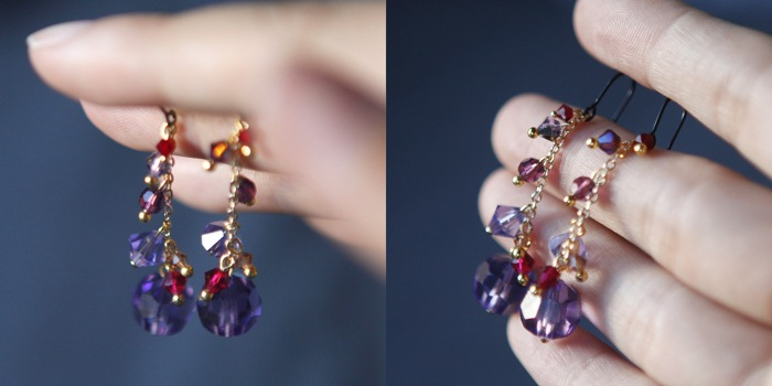 Today I Have A Simple Earring Tutorial To Share These Crystal Earrings Are Really Easy Create And They Re Highly Customizable