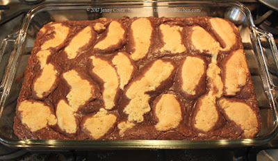 image of baked bars in pan