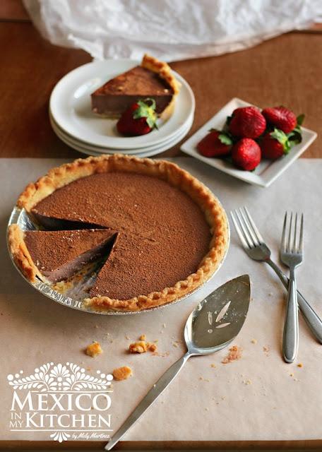 Chocolate Milk Pie recipe