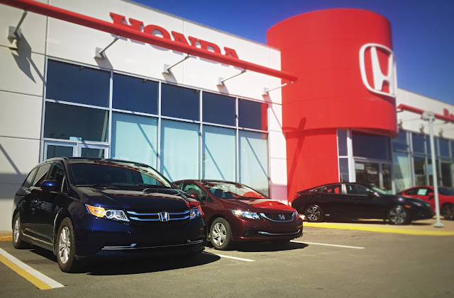 Portland Street Honda Odyssey Civics