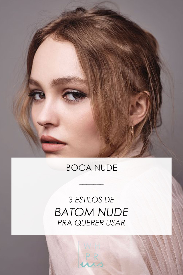#blog #make #makeup #maquiagem #batom #batomnude