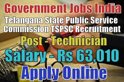 Telangana State Public Service Commission TSPSC Recruitment 2018