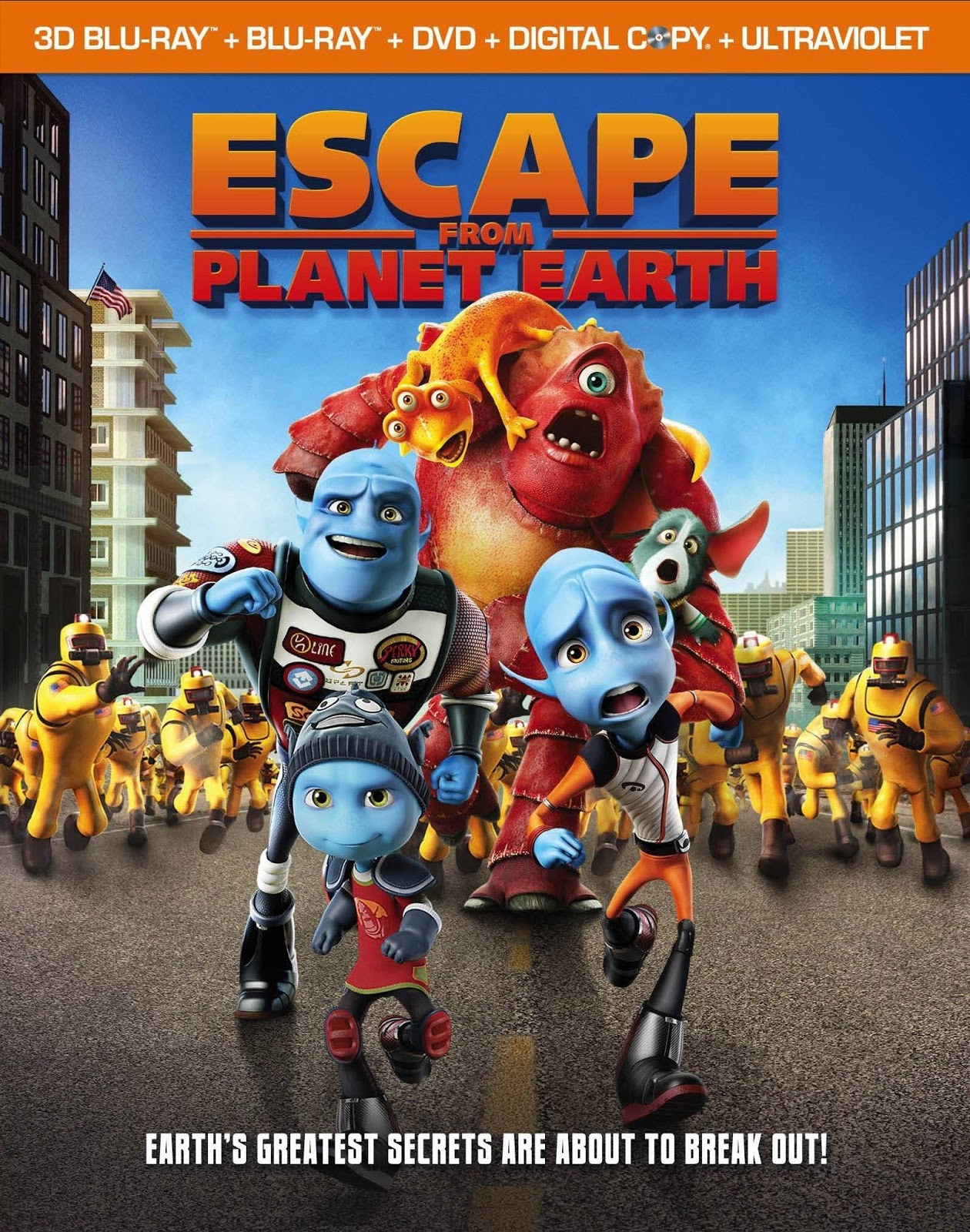 Escape From Planet Earth 2013 - Thoát Khỏi Trái Đất [hd]