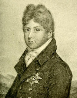 George, Prince of Wales from a pencil drawing by John Smart, Jnr (1807) from The Windham Papers Vol 2 (1913)