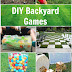 Easy DIY Backyard Games