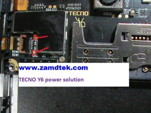 Tecno Y6 power solution
