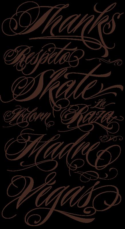 Tattoos Image Ideas: Tattoo Cursive Font Generator
