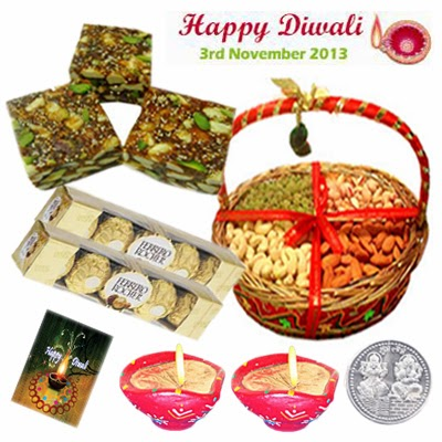 Online Diwali Gifts, Diwali Sweets to India: Superb Bhai