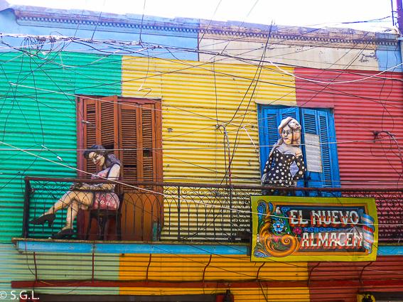 Fachada de El Caminito en Buenos Aires