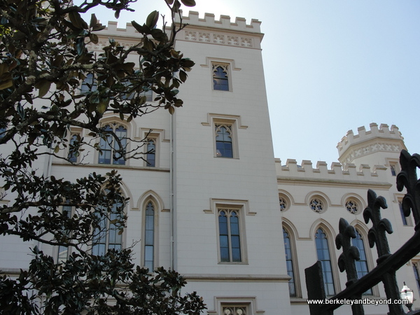 exterior of Old State Capitol in Baton Rouge, Louisiana