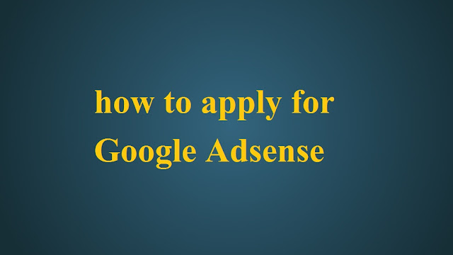 how to get google adsense step by step