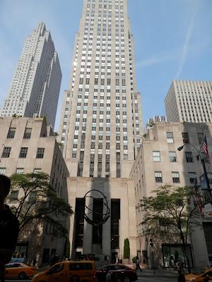 Rockefeller Center 5ème avenue