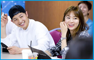 Song Joong Ki and Song Hye Kyo Main Cast in Descendants of The Sun