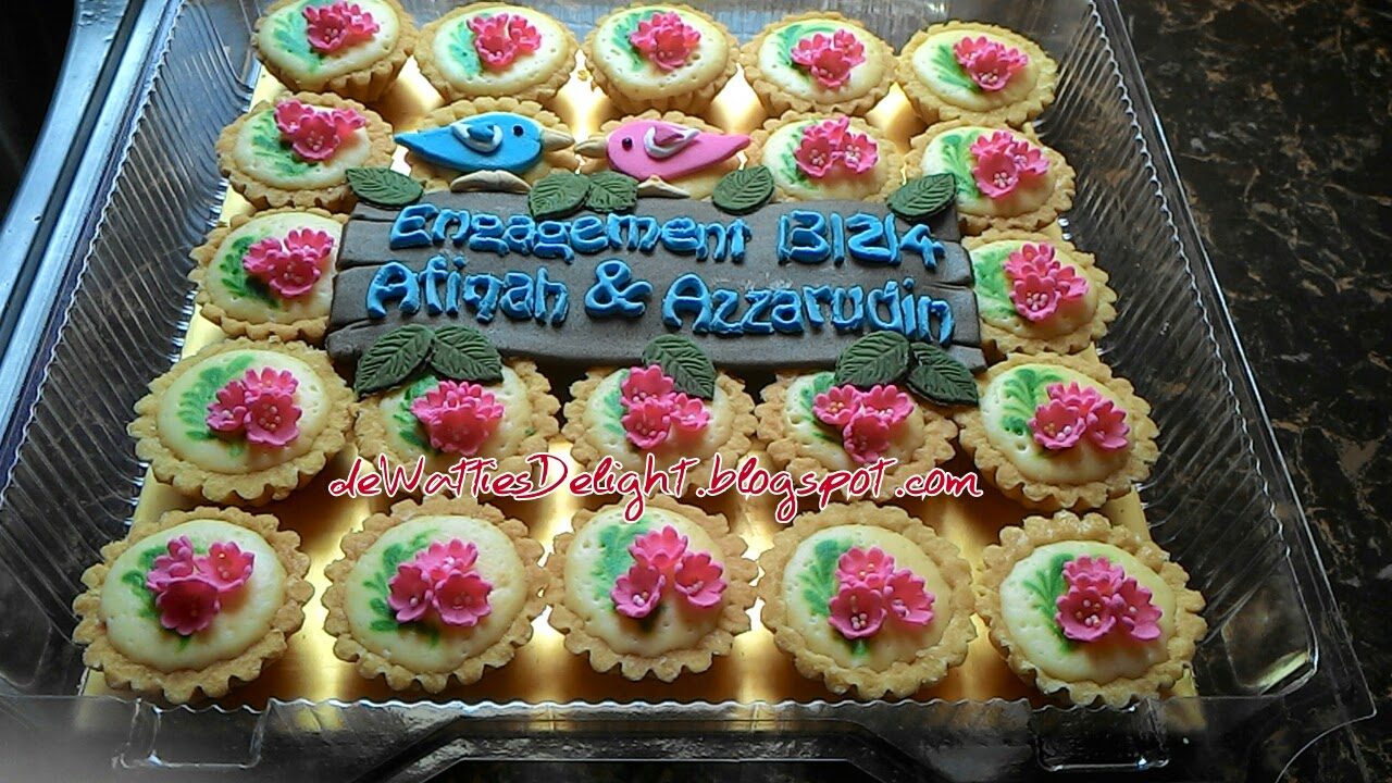 De Watties Delight Mini Cheese Tart Hantaran Pertunangan