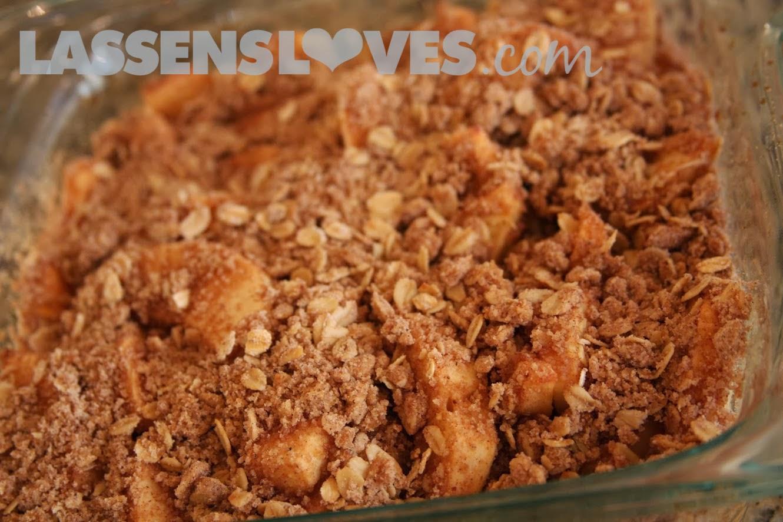 lassensloves.com, Lassen's, Lassens, Gala Apple Crisp, apple crisp
