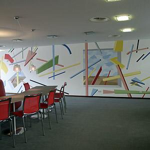 Entwurf, Objekte und Motive in der Wandmalerei | Illusionsmalerei
