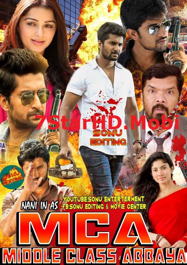 MCA (Middle Class Abbayi) 2018 Hindi Dubbed 450MB HDRip 720p HEVC x265