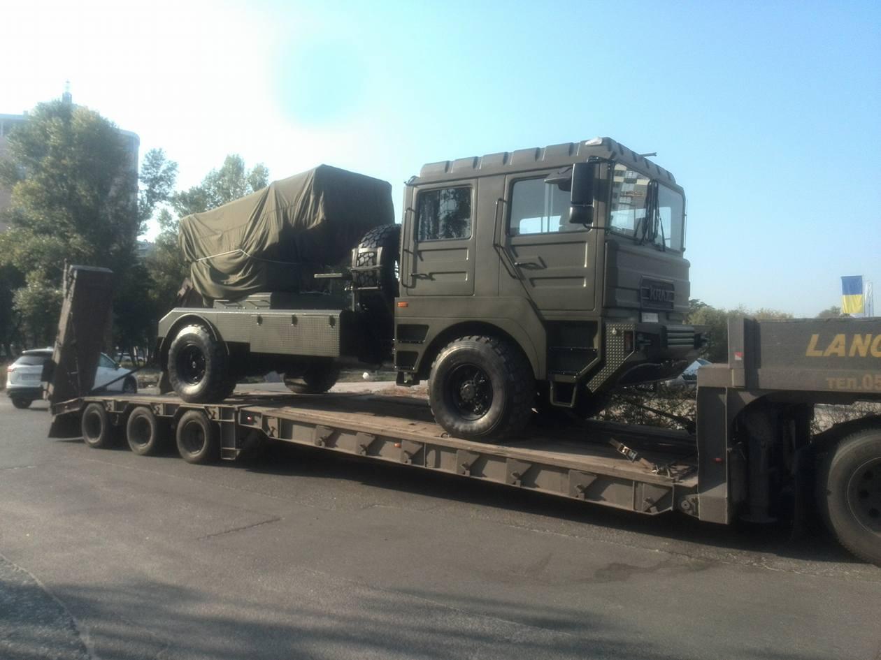 Перші фото модернізованої РСЗВ БМ-21У Шепетівського ремзаводу