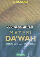 Buku Materi Da'wah; Untuk Da'i dan Muballigh Ustadz Aceng Zakaria