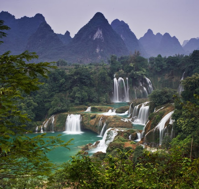 Detian Waterfall, China, worlds best waterfalls