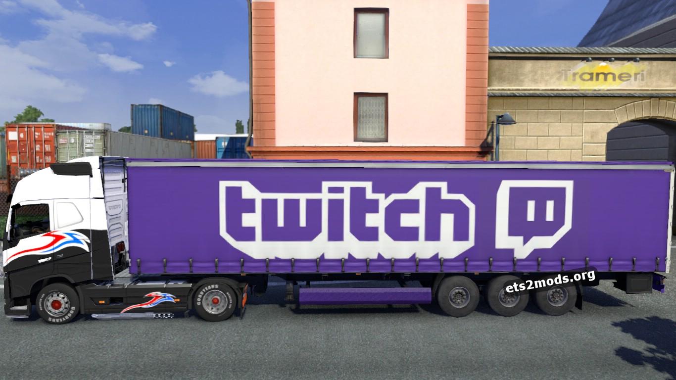 ETS2 Twitch trailer