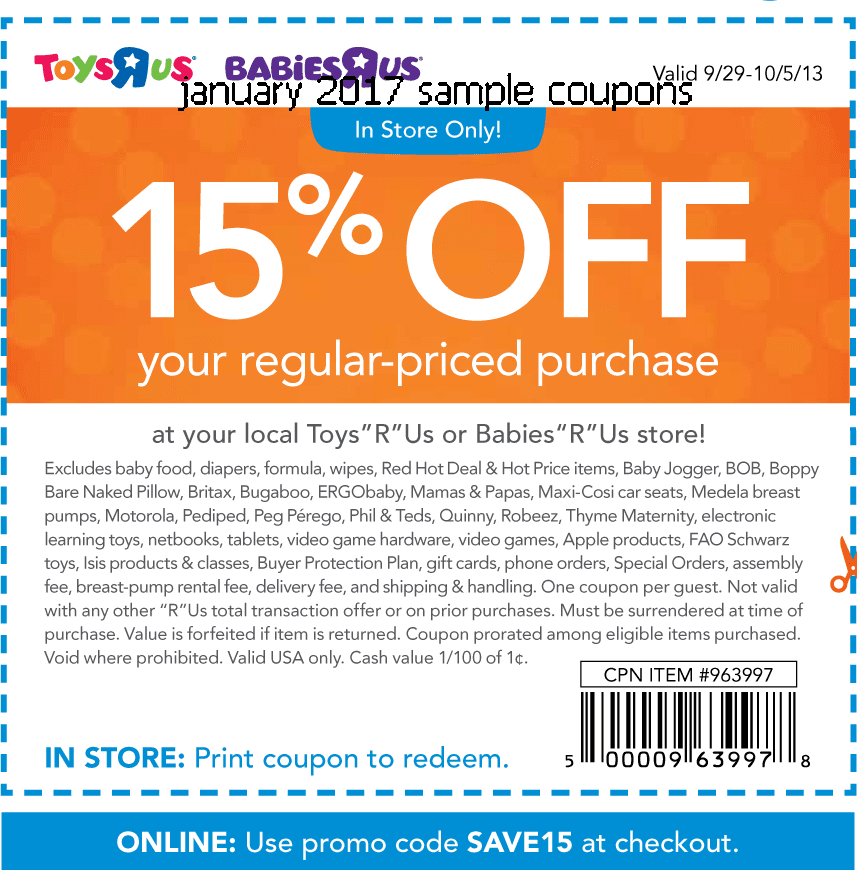 Free printable manufacturer coupons