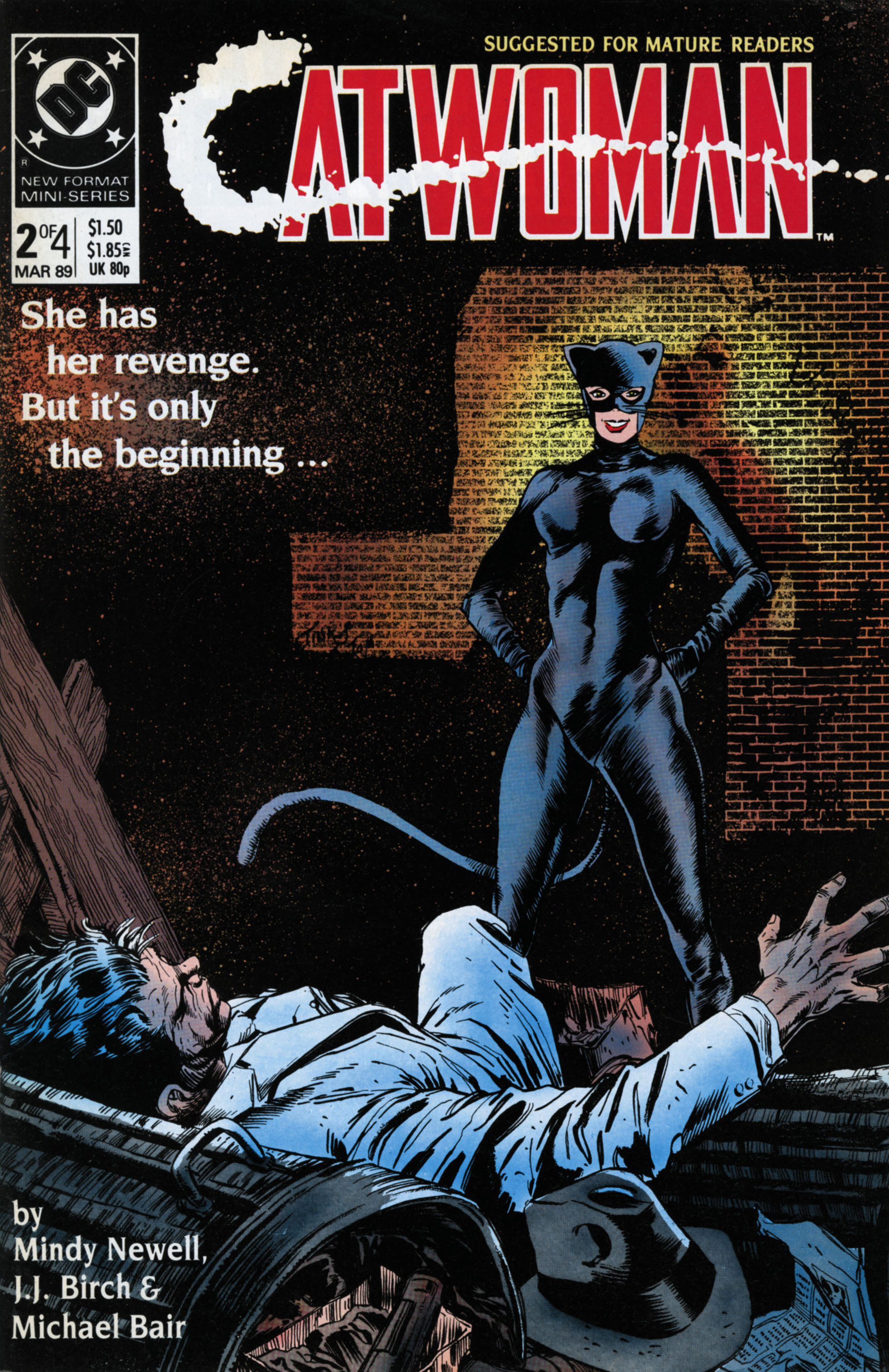 Catwoman (1989) Issue #2 #2 - English 1