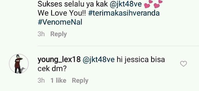 Young Lex Takis Jessica Veranda JKT48