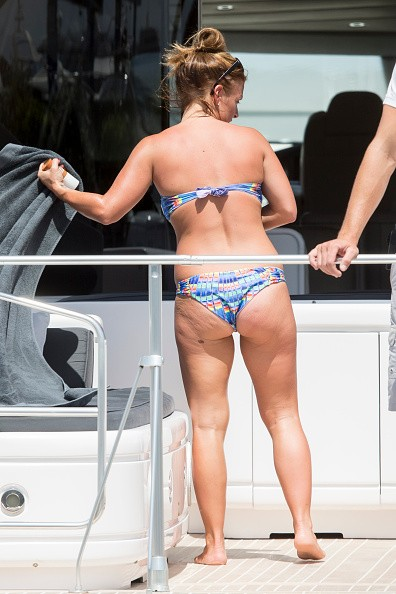 Coleen Rooney Displays Her Figure in Sizzling Bikini