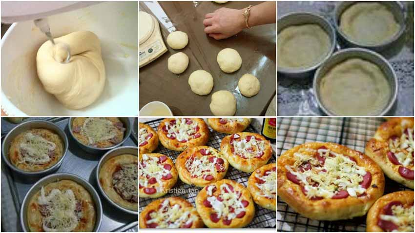 Resep Membuat Roti Pizza Mini