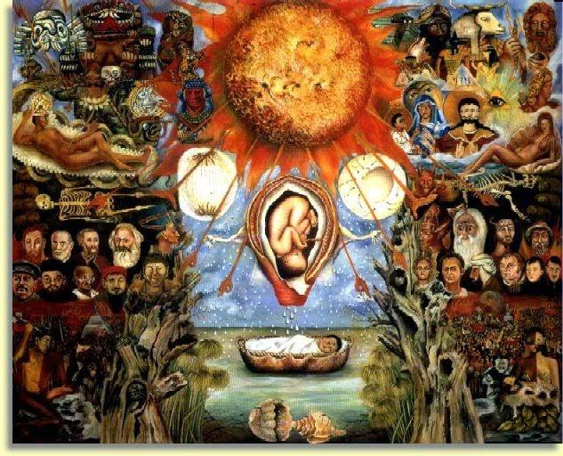 Moisés no Núcleo Solar - Frida Kahlo e suas pinturas ~ Pintora comunista e revolucionária
