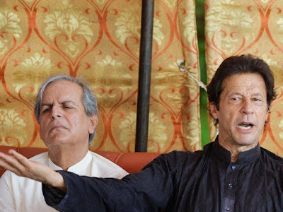javed Hashmi PMLN leader says Imran khan PTI leader conspired with 'disgruntled elements in the army' during 2014