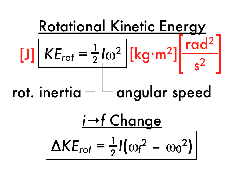 What Is The Equation For Rotational Kinetic Energy Kr 1 Of ...